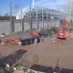 Impianto di Derby in costruzione01
