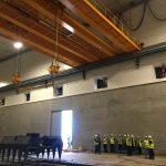 Tandem lifting impianto di Derby01